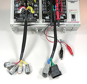 Customer specific interfaces Harness Tester