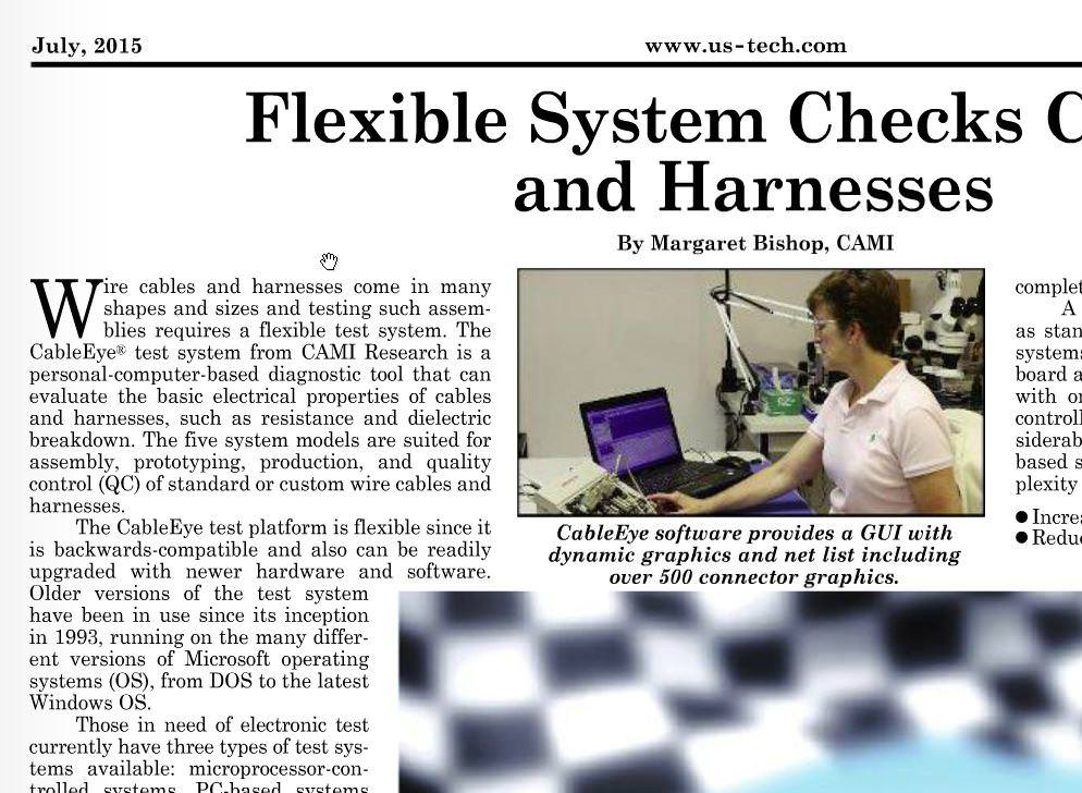 CableEye news-clipping from US-Tech