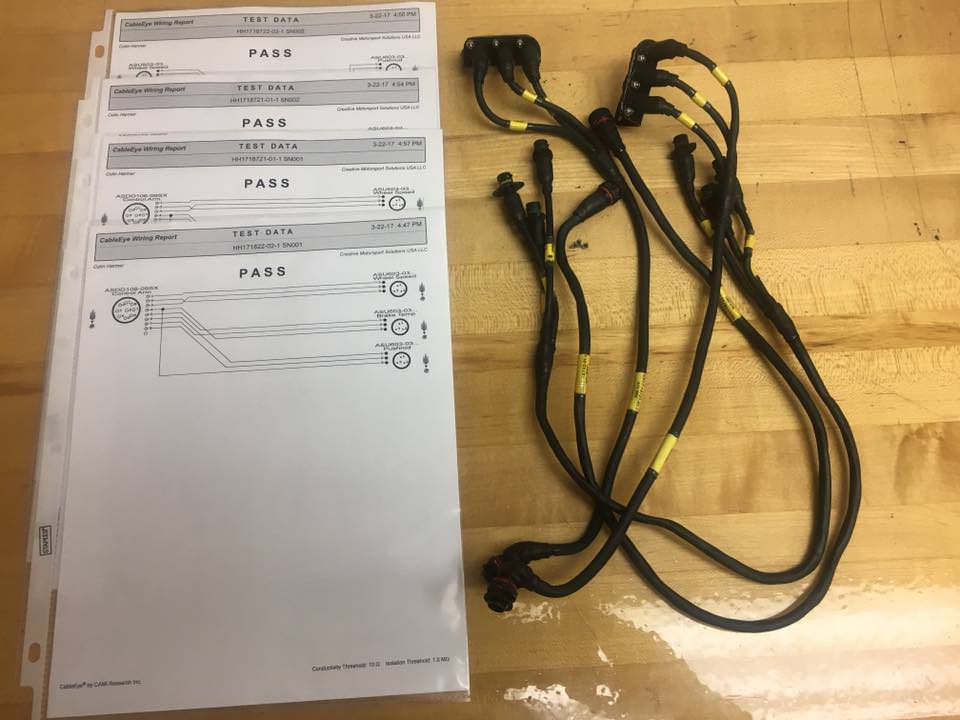Motorsport harnesses - Test result